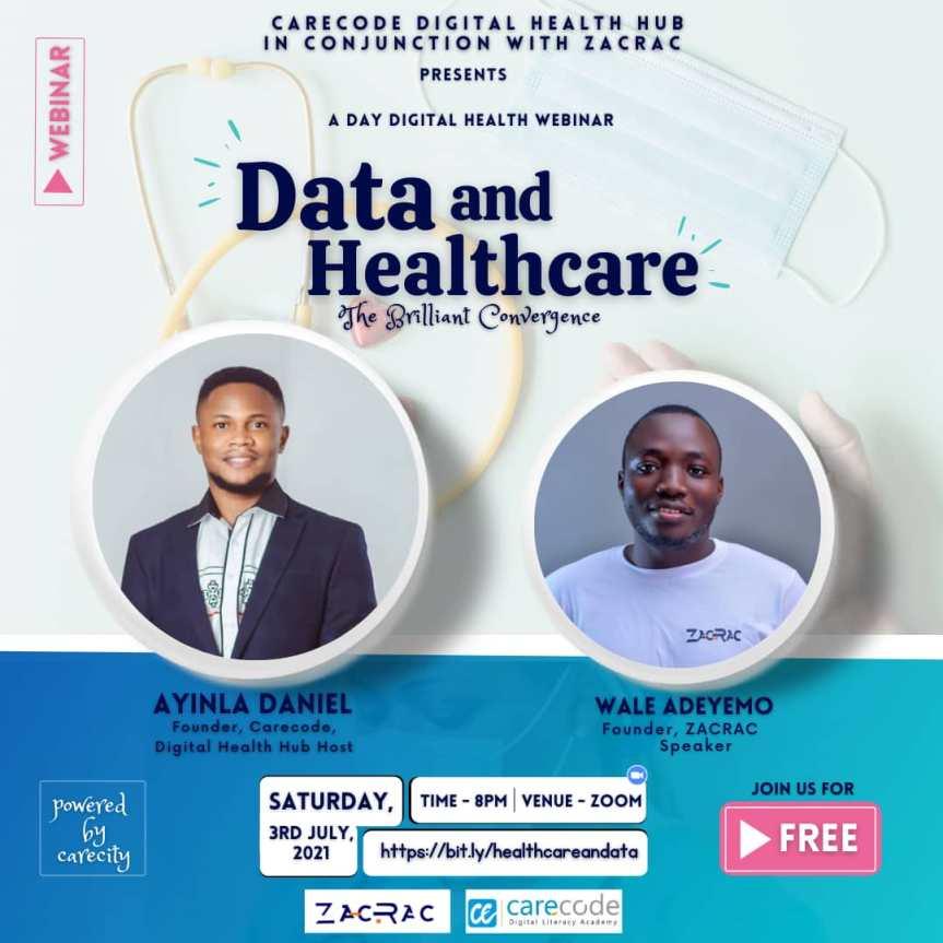 DATA AND HEALTHCARE: The Brilliant Convergence   Carecode Digital HealthHub